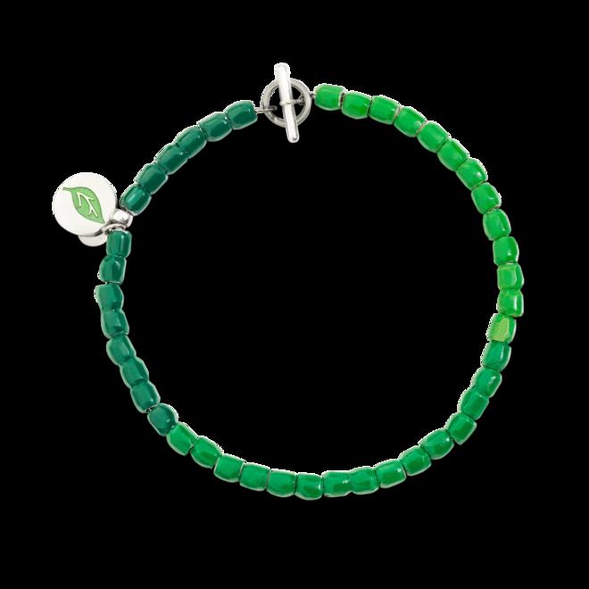 Armband Dodo Tenaka aus 925 Sterlingsilber, Emaille, Kunststoff und Edelstahl Größe XXL bei Brogle