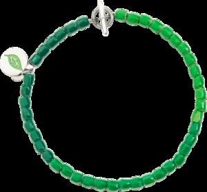 Armband Dodo Tenaka aus 925 Sterlingsilber, Emaille, Kunststoff und Edelstahl Größe XXL