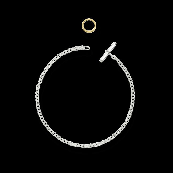 Armband Dodo Essentials aus 925 Sterlingsilber und 750 Gelbgold Größe 18 cm bei Brogle