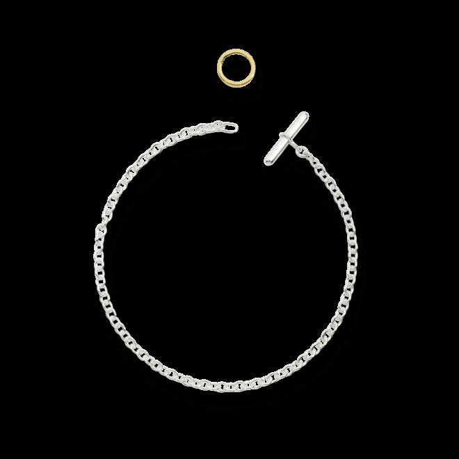 Armband Dodo Essentials aus 925 Sterlingsilber und 750 Gelbgold Größe 20 cm bei Brogle