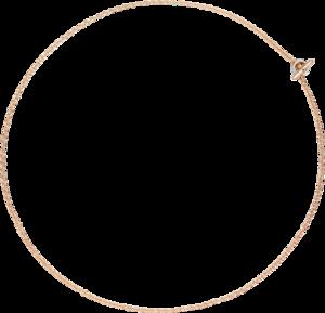 Halskette Dodo Essentials aus 375 Roségold und 750 Weißgold