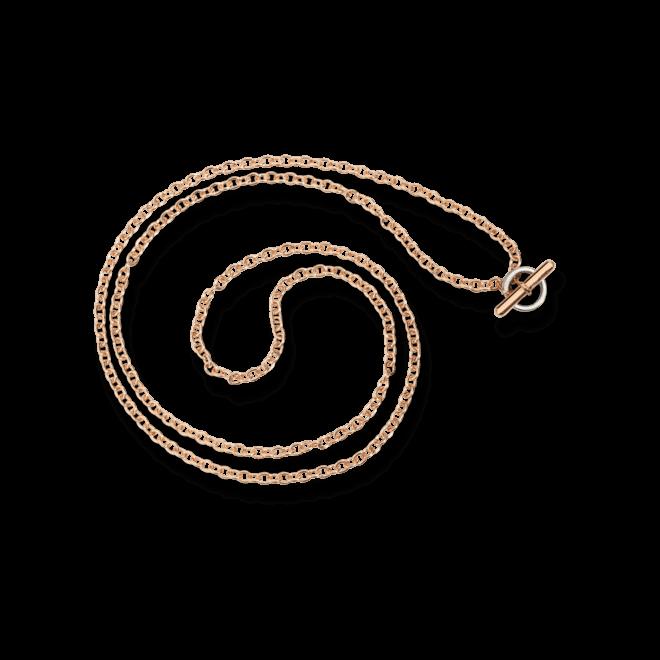Halskette Dodo Essentials aus 375 Roségold und 750 Weißgold bei Brogle