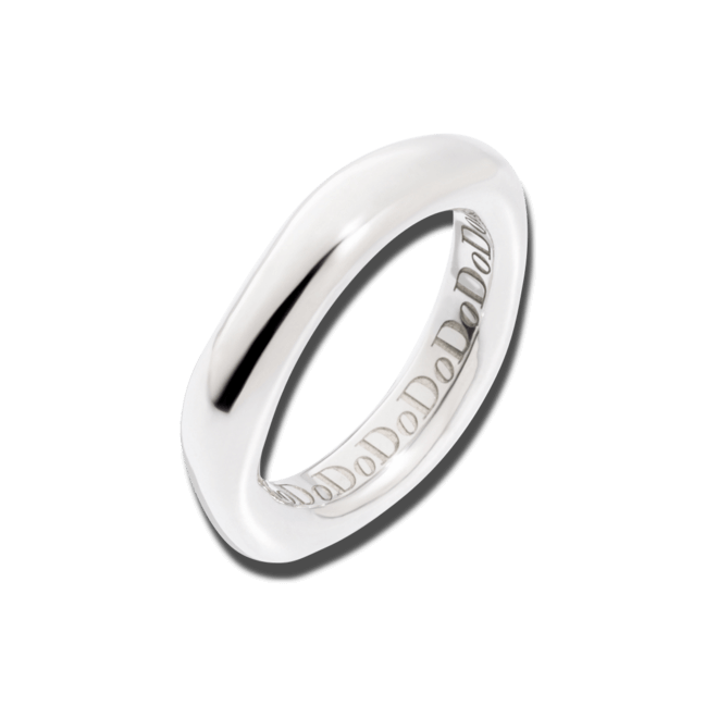 Ring Dodo Irregular aus 925 Sterlingsilber
