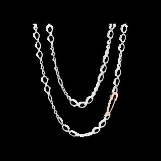 Dodo Halskette mit Brosche DC/AG/S9/90