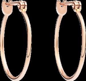 Ohrring Dodo Essentials aus 750 Roségold