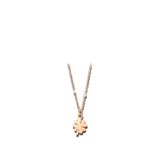 Dodo Halskette mit Anhänger Kleeblatt Mini DCB9004-FOURX-0009R
