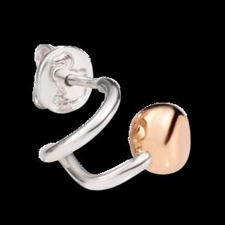 Dodo Ohrringe Pepita, linker Ohrring DHC0004-PEPTL-0009A
