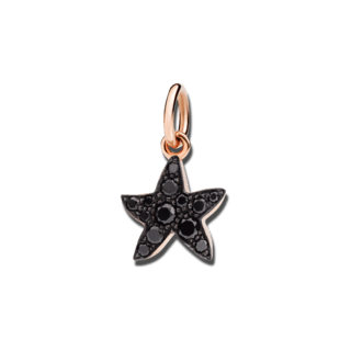 Dodo Charm Seestern (klein) Diamant DMB5003-STARS-DBK9R
