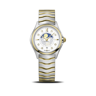 Ebel Damenuhr Wave Lady Moonphase Quarz 1216373
