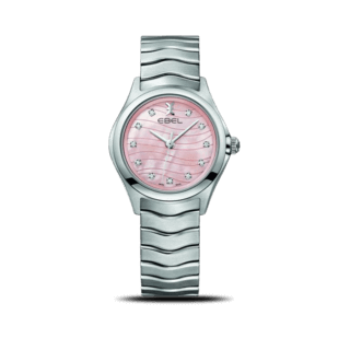 Ebel Damenuhr Wave Lady Quarz 1216268