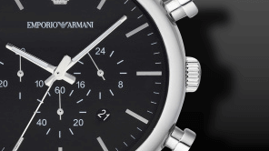 Emporio Armani Classic Quarz Chrono 46mm