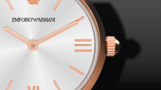 Emporio Armani Gianni T-Bar 28mm