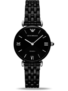 Emporio Armani Gianni T-Bar Keramik 32mm