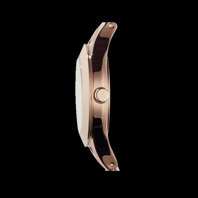 Damenuhr Emporio Armani Chiara 28mm mit weißem Zifferblatt und Kalbsleder-Armband