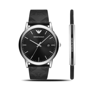 Emporio Armani Herrenuhr Fashion Quarz 43mm AR80012
