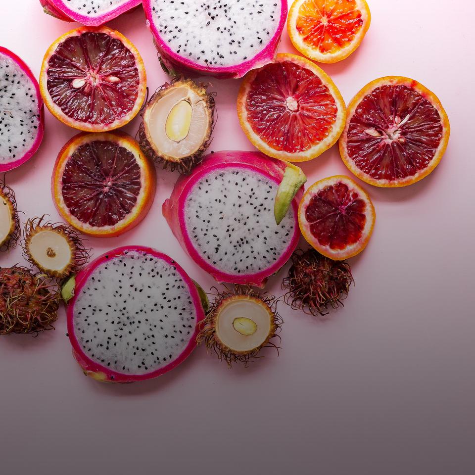 Farbenfrohe, fruchtige Schmuckstücke
