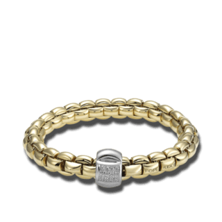 Fope Armband Flex'it Eka Gelbgold 602B-BBRM_GG