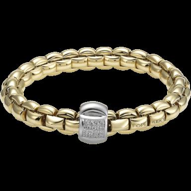 Fope Armband Flex'it Eka Gelbgold 602B-BBRS_GG