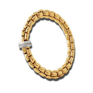 Fope Armband Flex'it Eka Gelbgold 604B-BBRL_GG