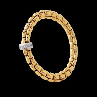 Fope Armband Flex'it Eka Gelbgold 604B-BBRM_GG