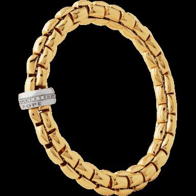 Fope Armband Flex'it Eka Gelbgold 604B-BBRS_GG