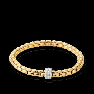 Fope Armband Flex'it Eka Gelbgold 704B-BBRL_GG