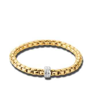 Fope Armband Flex'it Eka Gelbgold 704B-BBRS_GG