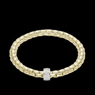 Fope Armband Flex'it Eka Gelbgold 704B-PAVEM_GG