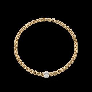 Fope Halskette Flex'it Eka Gelbgold 602C-PAVE_GG