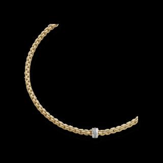 Fope Halskette Flex'it Eka Gelbgold 604C-BBR_GG