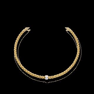 Fope Halskette Flex'it Eka Gelbgold 604C-PAVE_GG