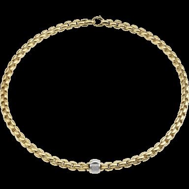 Fope Halskette Flex'it Eka Gelbgold 701C-BBR-GG