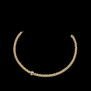 Fope Halskette Flex'it Eka Gelbgold 704C-BBR_GG