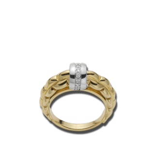 Fope Ring Flex'it Eka Gelbgold AN290-BBR_GG