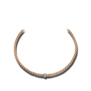 Fope Halskette Flex'it Eka 604C-PAVE_RG