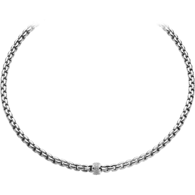 Fope Halskette Flex'it Eka 604C-PAVE_WG