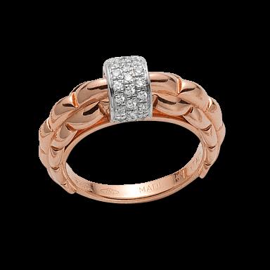 Fope Ring Flex'it Eka AN290-PAVE_RG