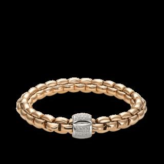Fope Armband Flex'it Eka Roségold 602B-PAVEM_RG