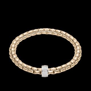 Fope Armband Flex'it Eka Roségold 704B-PAVEM_RG