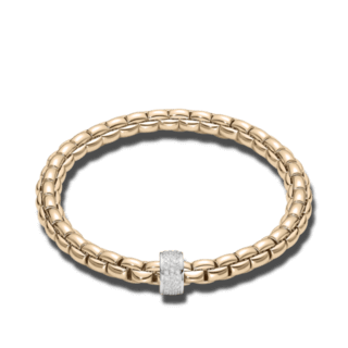 Fope Armband Flex'it Eka Roségold 704B-PAVES_RG