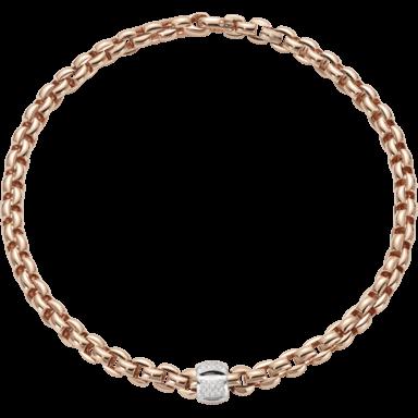 Fope Halskette Flex'it Eka Roségold 602C-PAVE_RG