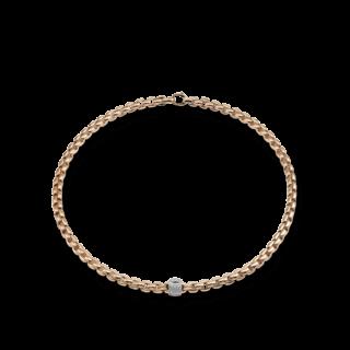 Fope Halskette Flex'it Eka Roségold 701C-PAVE-RG