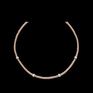 Fope Halskette Flex'it Eka Roségold 701C-PAVE4-800_RG
