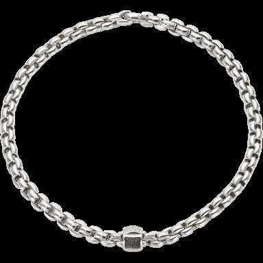 Fope Halskette Flex'it Eka Weißgold 602C-PAVE1_WG