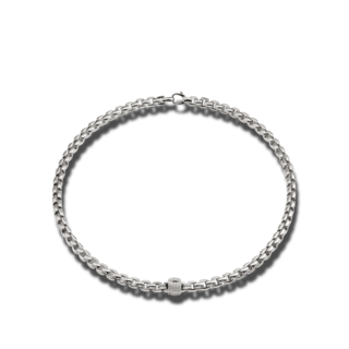 Fope Halskette Flex'it Eka Weißgold 701C-PAVE-WG