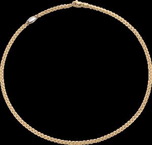 Halskette Fope Eka Tiny aus 750 Gelbgold
