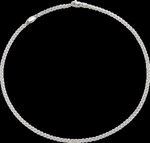 Halskette Fope Eka Tiny aus 750 Weißgold