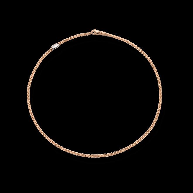 Halskette Fope Eka Tiny aus 750 Roségold