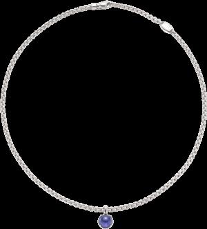 Halskette Fope Eka Tiny aus 750 Weißgold mit 1 Iolith
