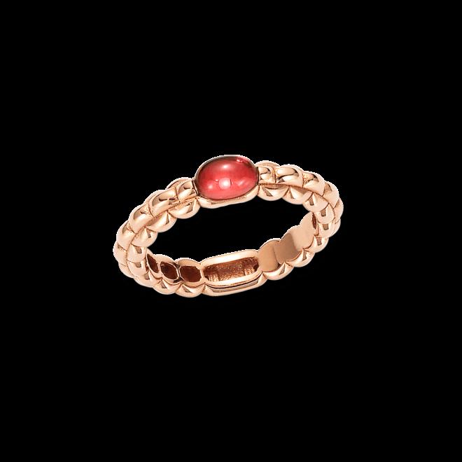 Ring Fope Eka Roségold aus 750 Roségold mit 1 Granat